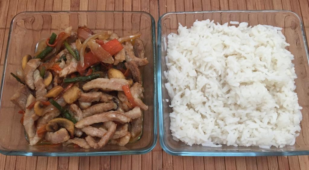 Wok de secreto con verduras