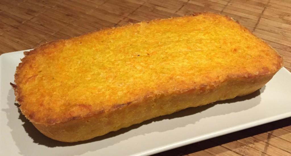 Tarta de zanahorias y queso